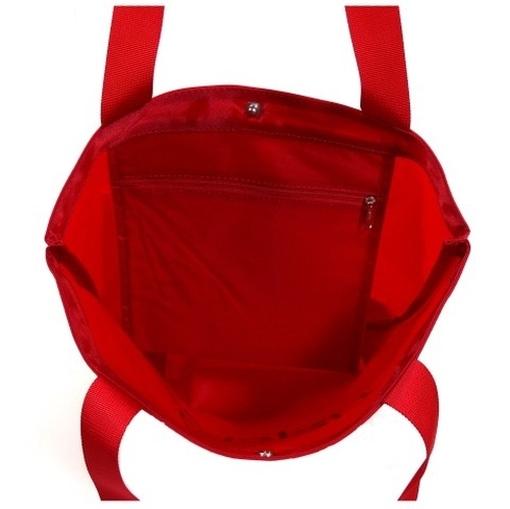 esprit shopper rot j15115 damen handtasche tasche henkeltasche einkaufstasche. Black Bedroom Furniture Sets. Home Design Ideas