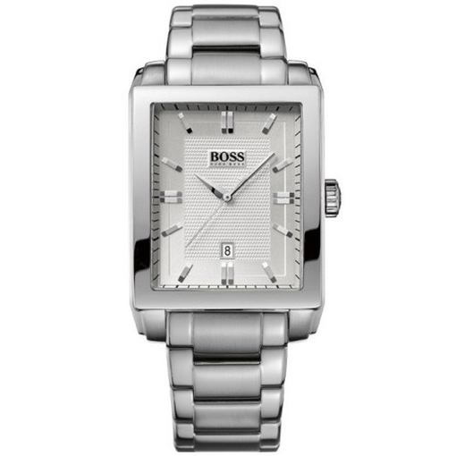 hugo boss 1512772 uhr herrenuhr edelstahl datum silber kaufen bei. Black Bedroom Furniture Sets. Home Design Ideas