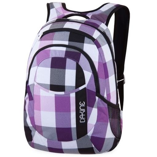 dakine garden lila kariert 8210050 daypack rucksack laptop. Black Bedroom Furniture Sets. Home Design Ideas