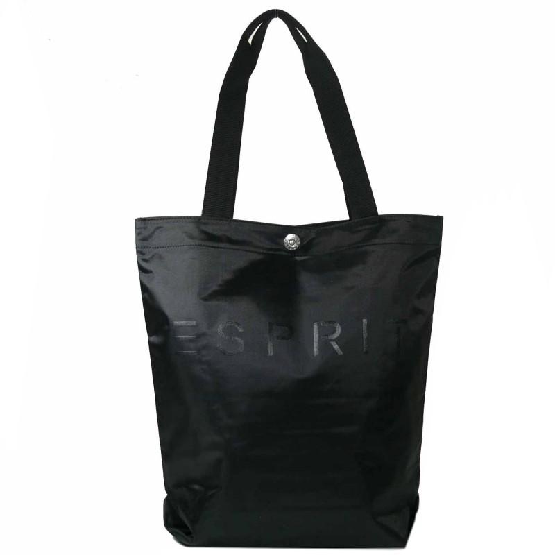 esprit noos shopper schwarz 993ea1o900 e001 handtasche tasche einkaufstasche. Black Bedroom Furniture Sets. Home Design Ideas