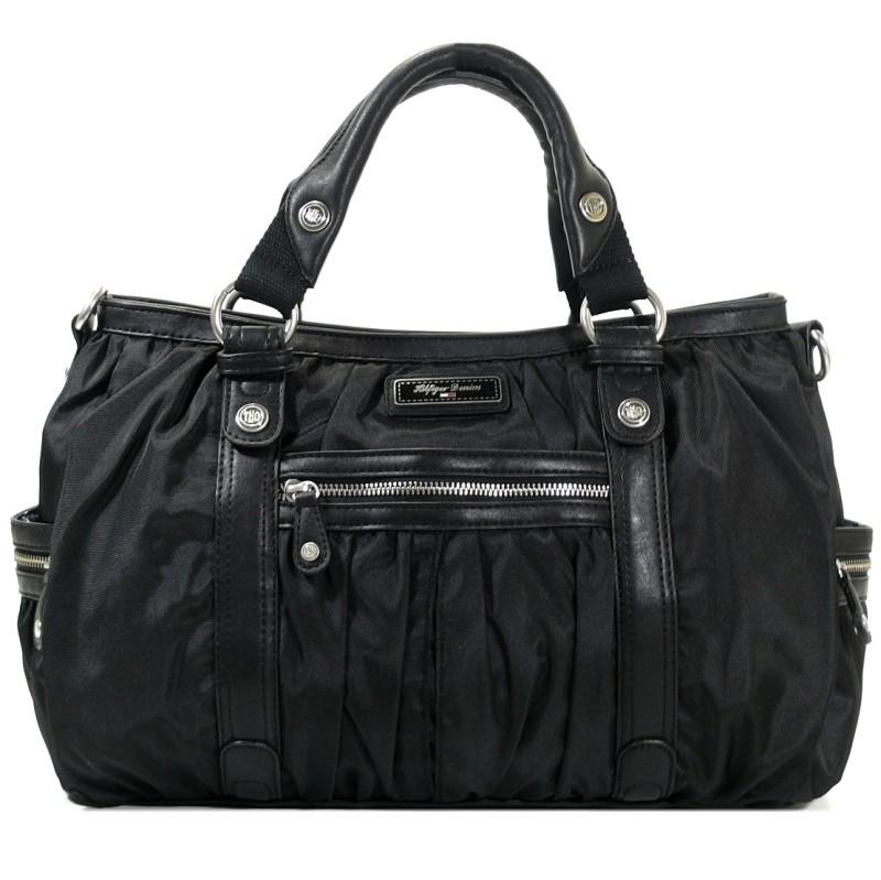 tommy hilfiger kayla satchel schwarz el56921020 handtasche. Black Bedroom Furniture Sets. Home Design Ideas