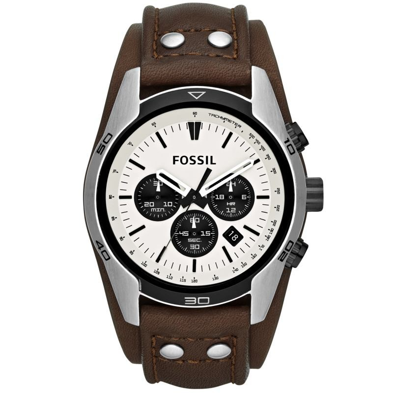 fossil ch2890 coachman chronograph uhr herrenuhr. Black Bedroom Furniture Sets. Home Design Ideas