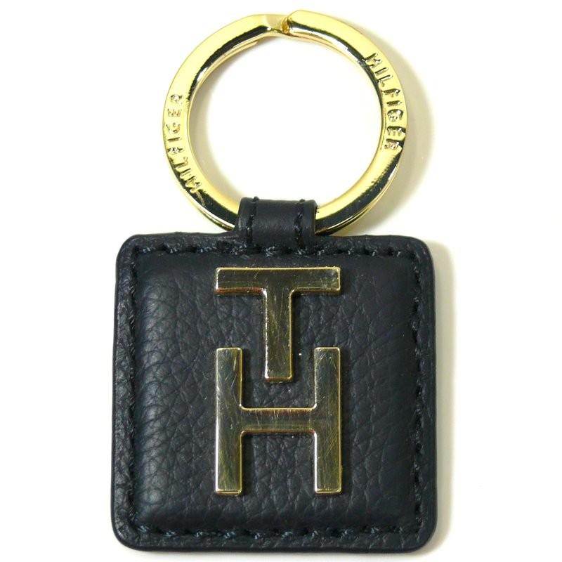 tommy hilfiger leather patch key blau bw56921275 403. Black Bedroom Furniture Sets. Home Design Ideas