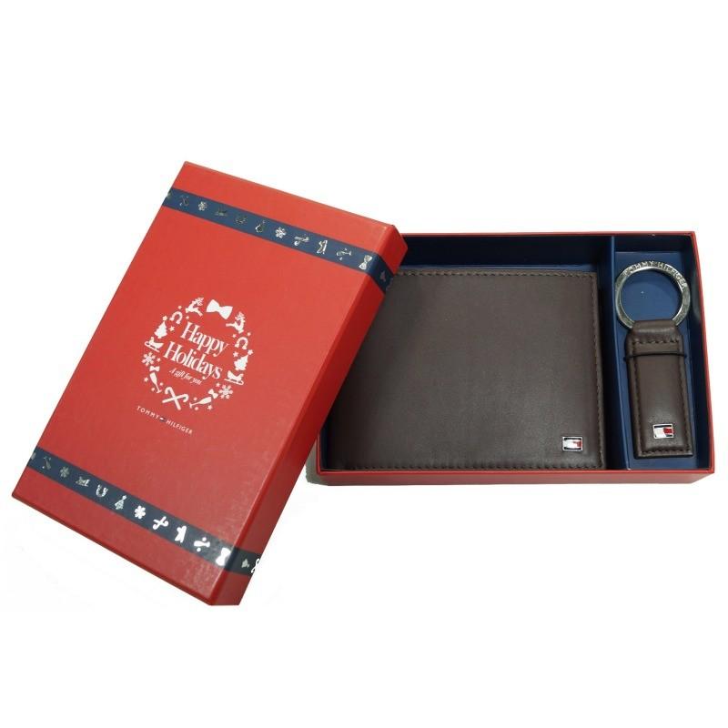 tommy hilfiger geldb rse eton gift box braun bm56922070 201 herren. Black Bedroom Furniture Sets. Home Design Ideas