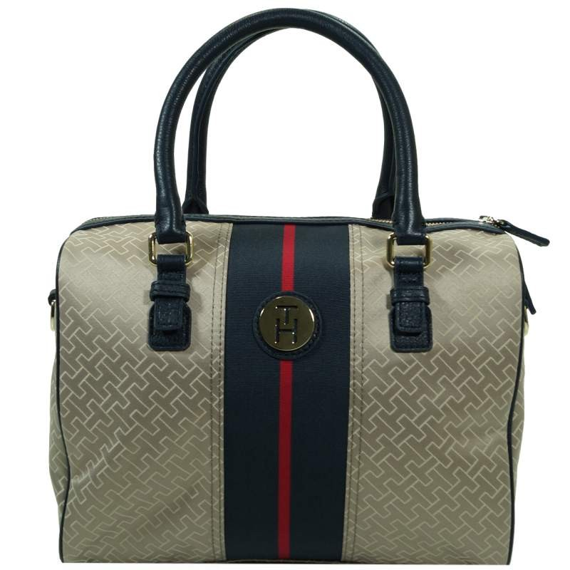 tommy hilfiger meritt duffle beige bw56923246 068 henkel hand schulter tasche ebay. Black Bedroom Furniture Sets. Home Design Ideas