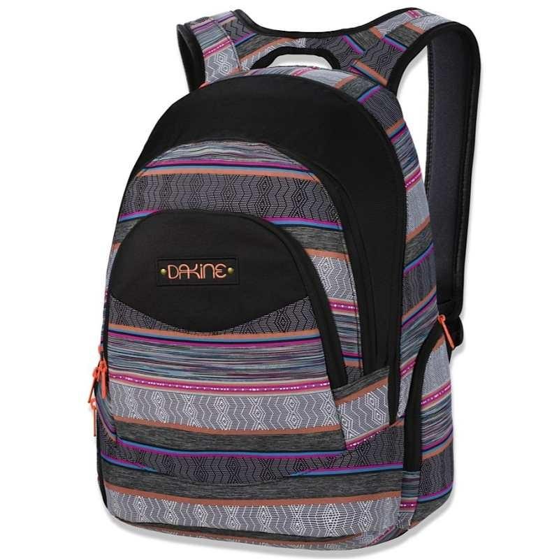 dakine prom wei pink schwarz 8210025 3642 rucksack laptop. Black Bedroom Furniture Sets. Home Design Ideas