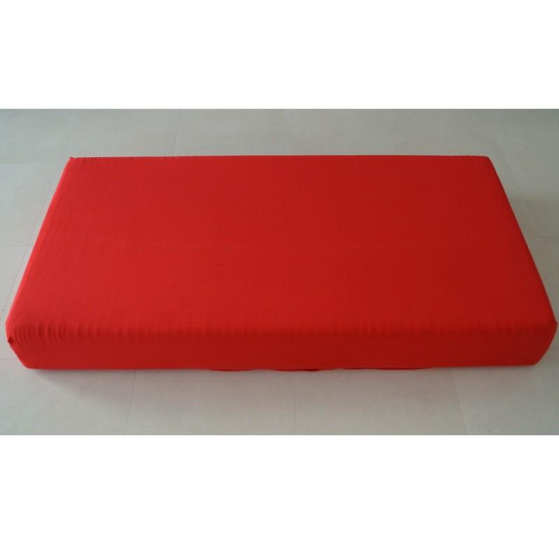 jersey spannbettlaken rot 60 cm x 120 cm 70 cm x 140 cm kaufen bei. Black Bedroom Furniture Sets. Home Design Ideas