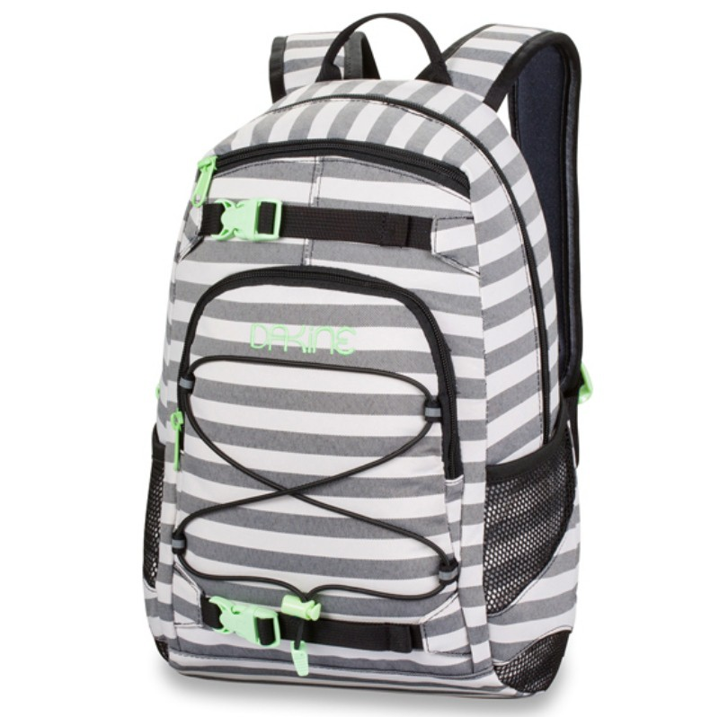 dakine girls grom schwarz wei 8210105 regatta stripes rucksack daypack 13l ebay. Black Bedroom Furniture Sets. Home Design Ideas