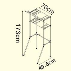 bad eckregal grau dq 5021 3 waschmaschinenregal teleskop. Black Bedroom Furniture Sets. Home Design Ideas