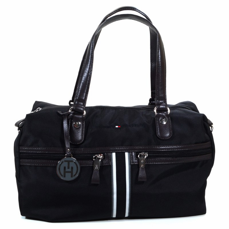 tommy hilfiger petra duffle schwarz bw56924795 handtasche. Black Bedroom Furniture Sets. Home Design Ideas