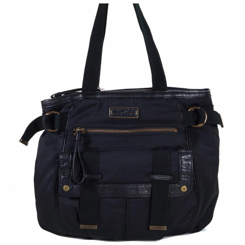 tommy hilfiger lucinda tote schwarz el56924909 handtasche. Black Bedroom Furniture Sets. Home Design Ideas