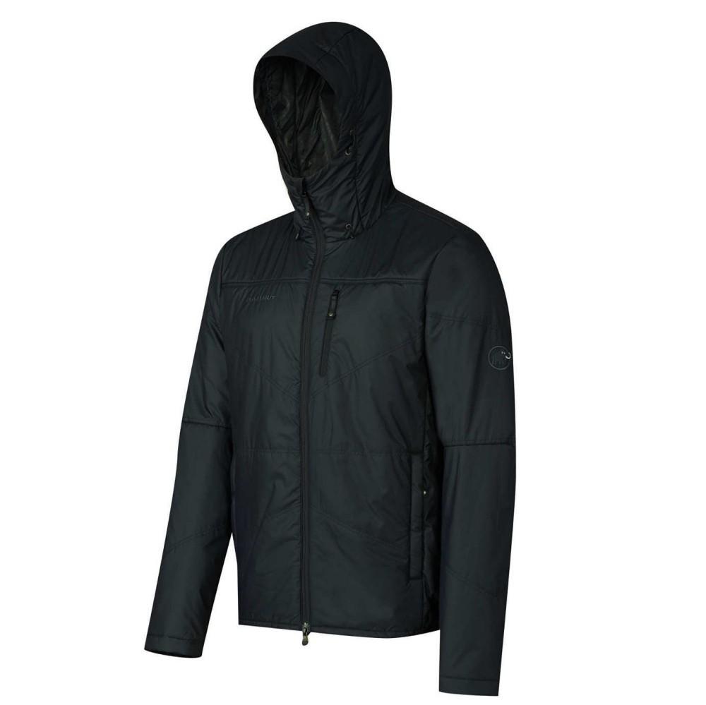Winterjacke Jacke Herren Runbold IS Hooded Jacket Schwarz Gr. S