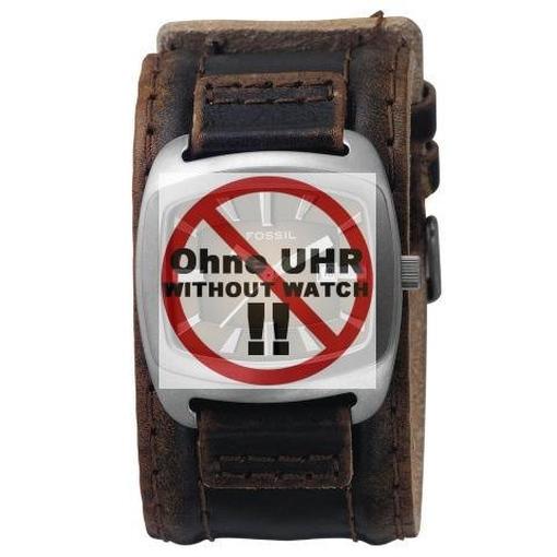 Uhrband LB-JR9156 Original Lederband für JR 9156
