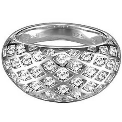 esprit 4443527 damen ring silber estella shy mit zirkonia. Black Bedroom Furniture Sets. Home Design Ideas