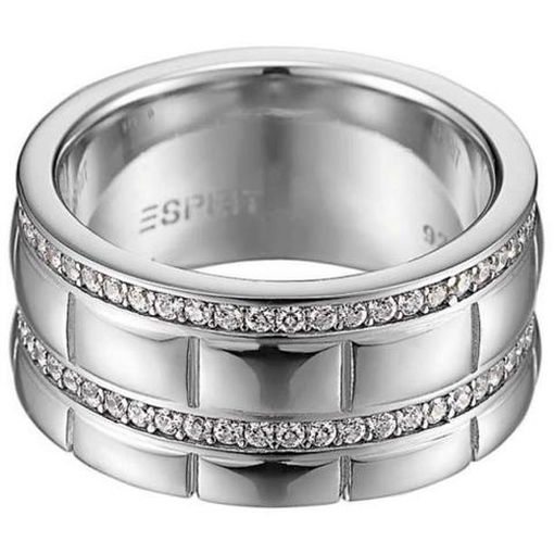 ESRG91524A Damen Ring Silber pure houston 50 (16 mm)