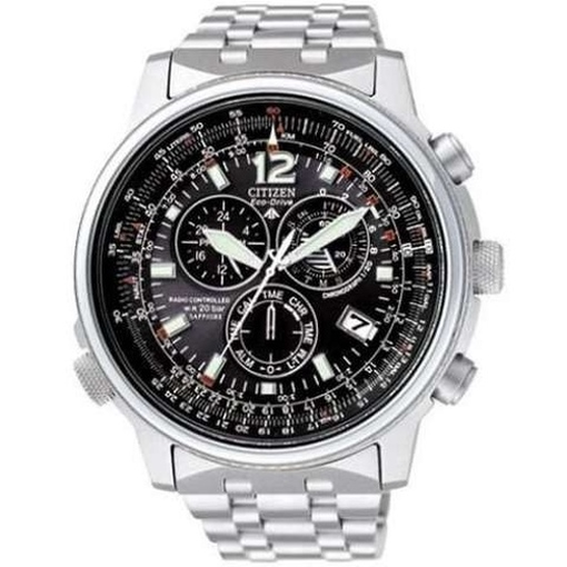 Promaster Eco-Drive AS4020-52E Datum Chrono Alarm anthrazit