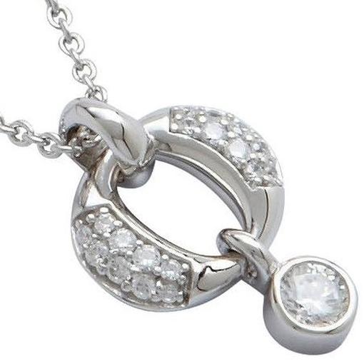 JF15863 Damen Collier JF 15863 Silber 47 cm Zirkonia weiß