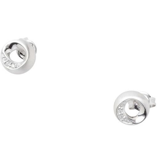 JF17835 Damen Ohrringe JF 17835 Silber mit Zirkonia weiß Ohrstecker