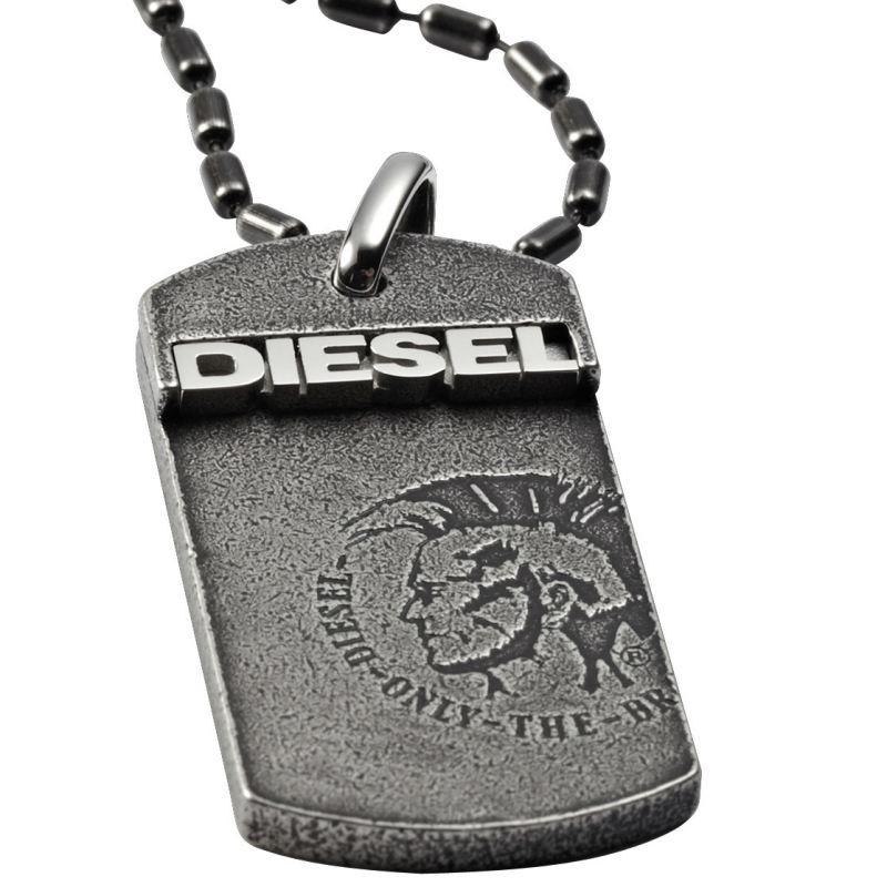 Diesel halskette herren leder