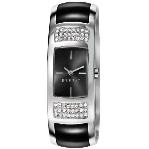 ES106592001 marbella black Uhr Damenuhr Edelstahl schwarz